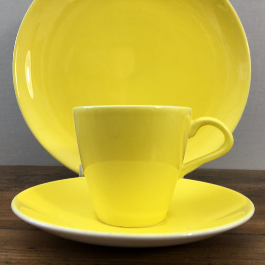 "Poole Pottery ""Cameo - Sunshine Yellow"""