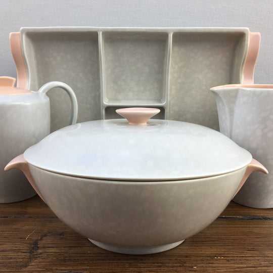 "Poole Pottery ""Twintone - Peach Bloom & Seagull (C97)"""