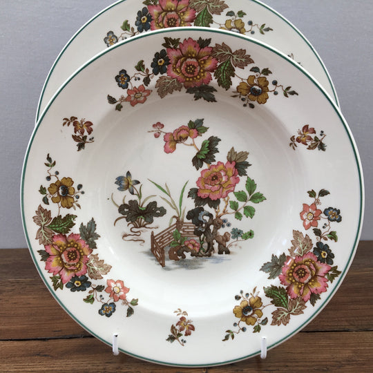 "Wedgwood ""Eastern Flowers (Green Edge)"""