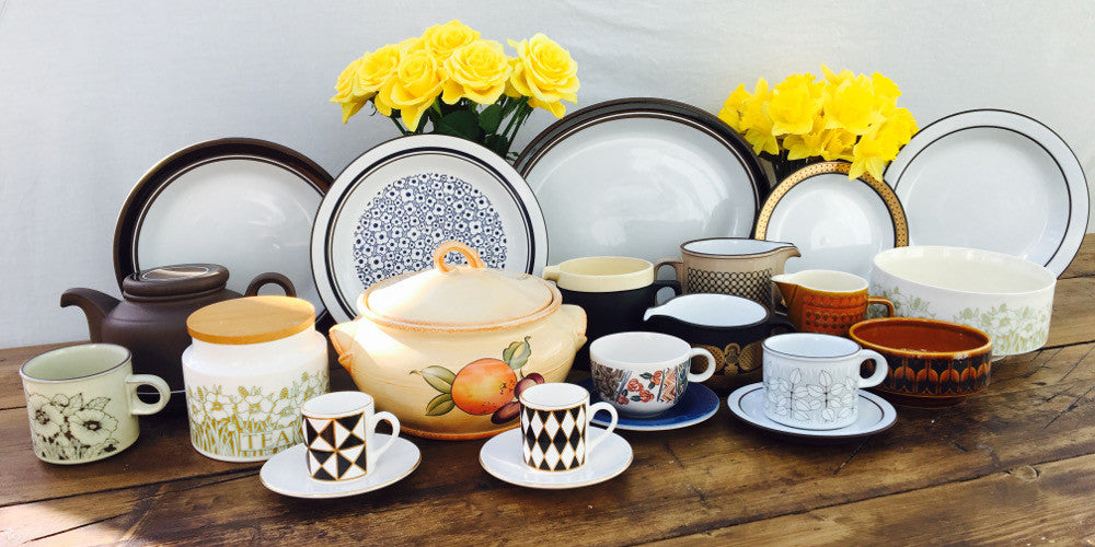 Discontinued Hornsea Pottery