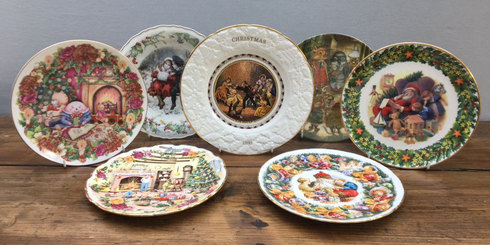 Christmas Plates, Tableware and Collectibles