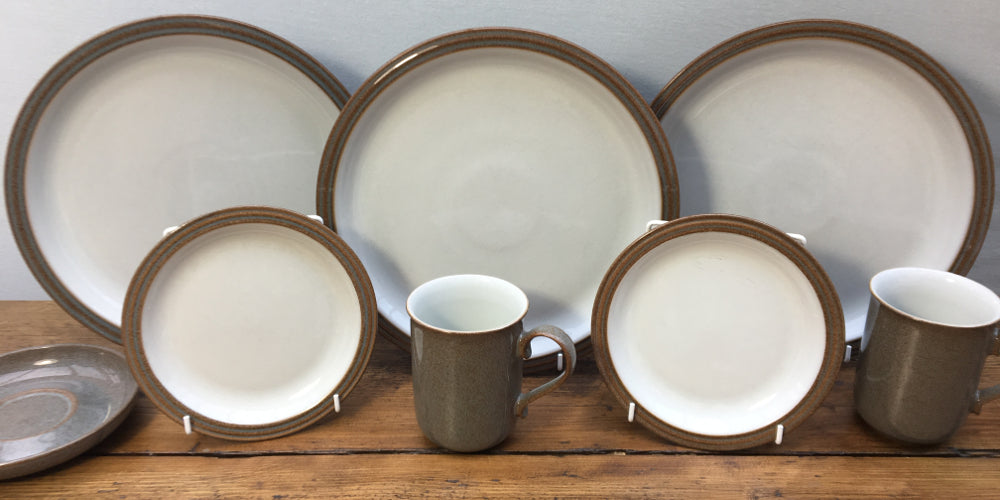 Denby Greystone is a popular discontinued tableware design from Denby Pottery\u0027s Artisan Collection which featured three patterned designs and three plain. & Denby \