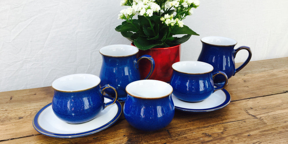 Denby Quot Imperial Blue Quot Mrpottery