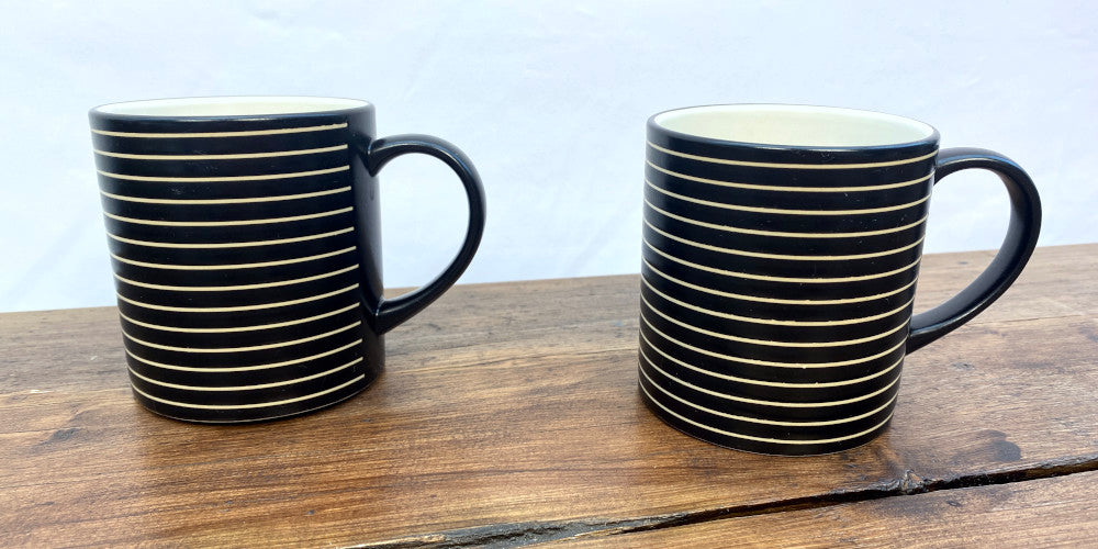 Denby Intro Stripes Black