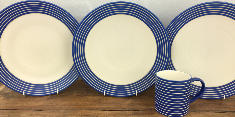 Denby Intro Stripes Blue