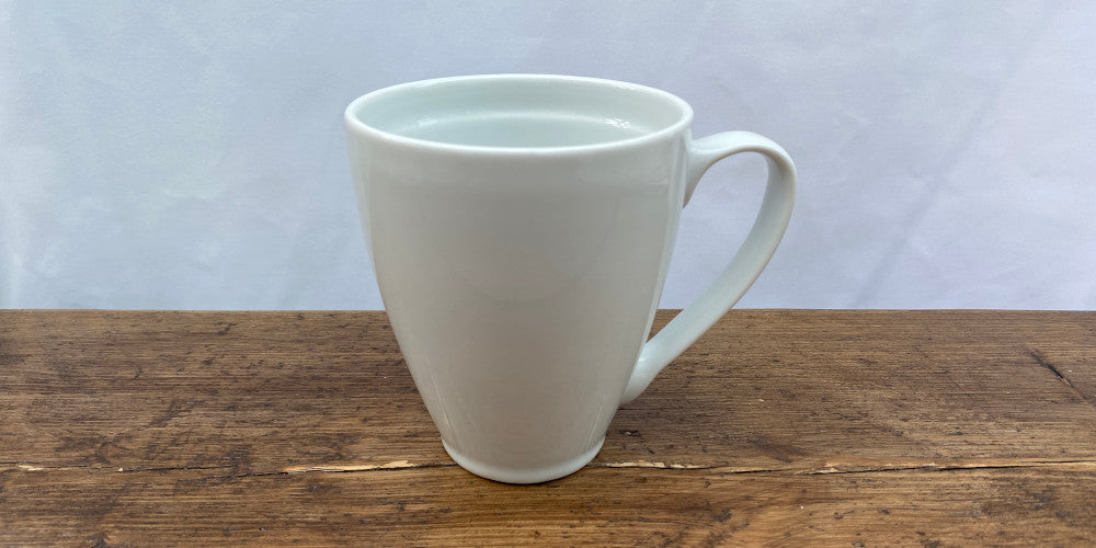 Denby White Coupe
