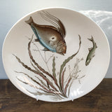 Johnson Bros Fish Dinner Plate  (Design No. 4)