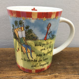 Johnson Brothers Born To Shop Mug