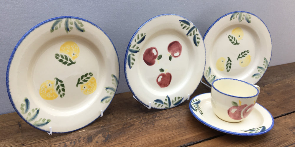 "Poole Pottery ""Dorset Fruit"""