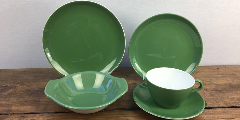 Poole Pottery New Forest Green