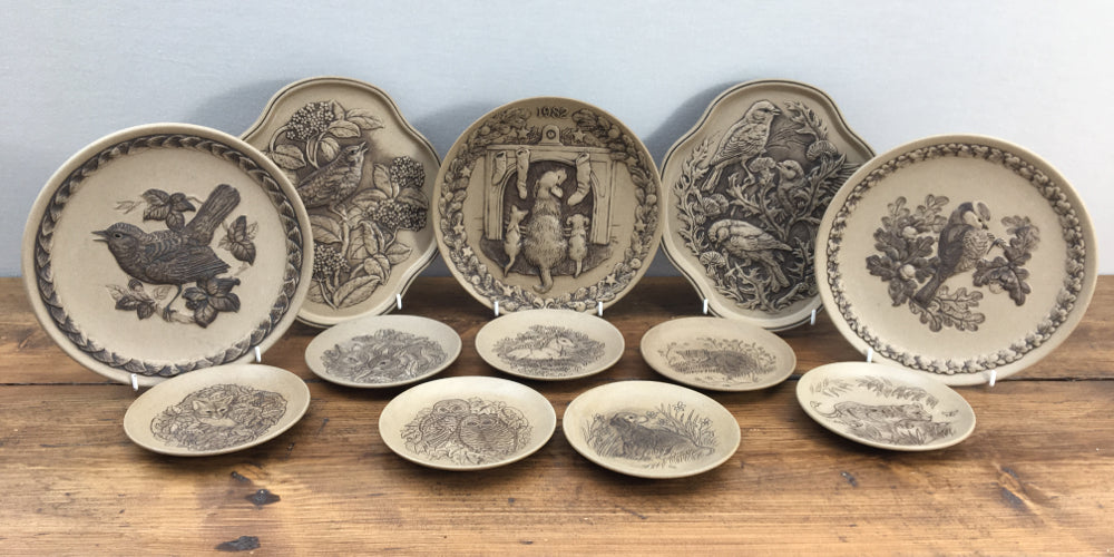 Poole Pottery Stoneware Plates & Plaques