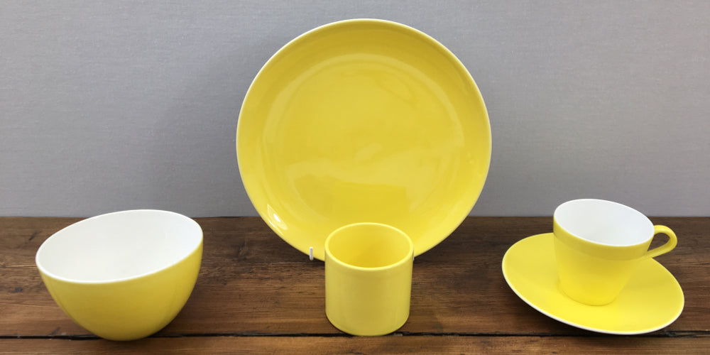 Poole Pottery Sunshine Yellow