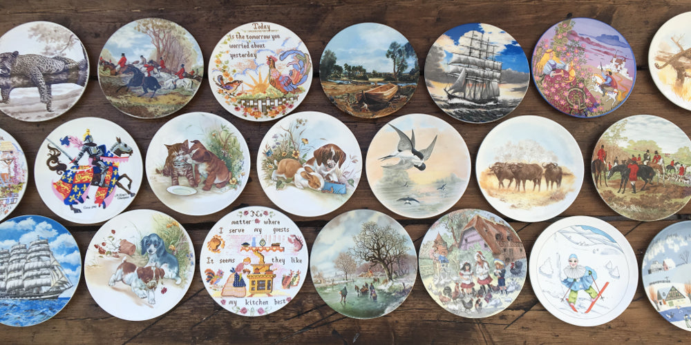 Poole Pottery Quot Transfer Plates Quot Tagged Quot Horses Amp Ponies