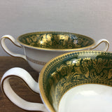 Wedgwood Florentine Arras Green Soup Cup