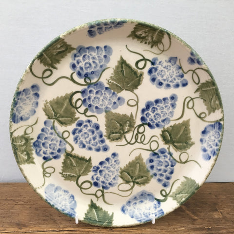 Purbeck Pottery Grape Dinner Plate