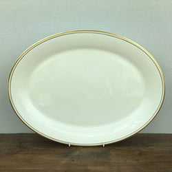 Royal Doulton Gold Concord Oval Serving Platter, 16.5""