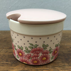 Hornsea Pottery Passion Lidded Sugar Bowl