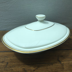 Royal Doulton Gold Concord Covered Vegetable Dish