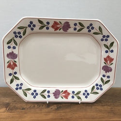 Adams Old Colonial Oblong Platter