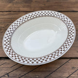 "Adams ""Sharon"" Oval Serving Dish"