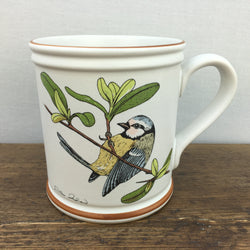 Denby Birds of a Feather Blue Tit Mug
