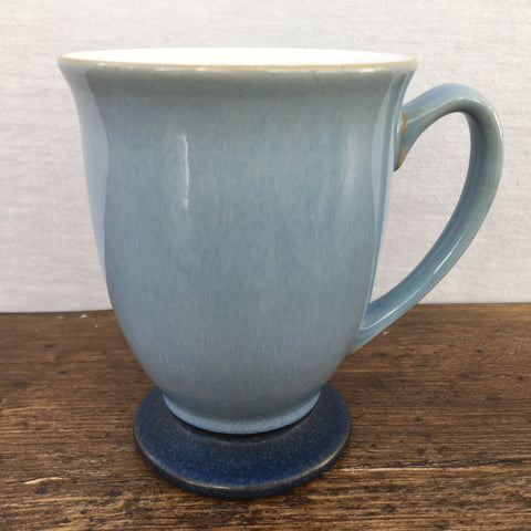 Denby Pottery Blue Jetty Footed Mug