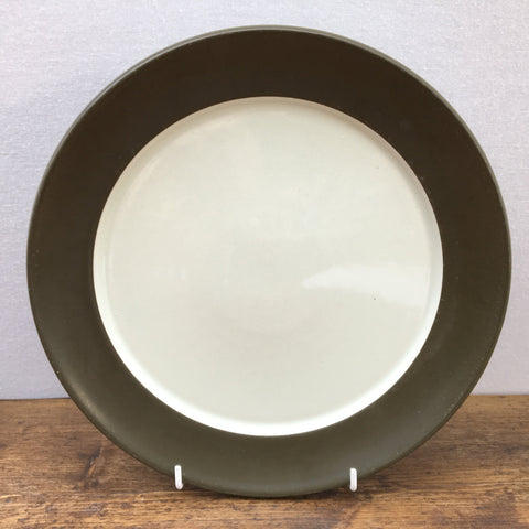 Denby Chevron Dinner Plate