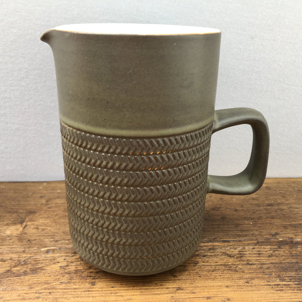 "Denby ""Chevron"" Jug, 1 Pint"