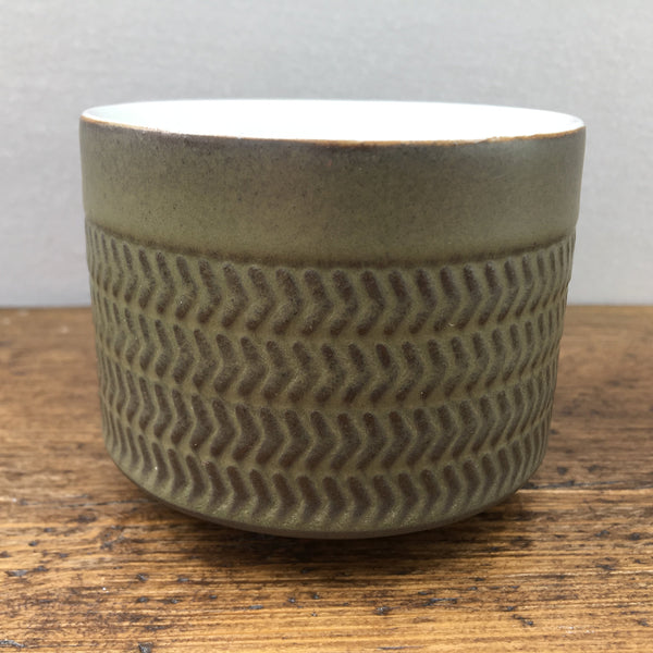 "Denby ""Chevron"" Sugar Bowl"