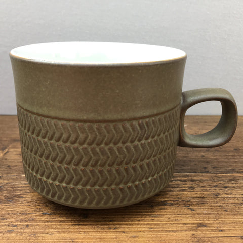 Denby Chevron Breakfast Cup