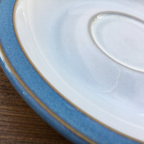 Denby Colonial Blue Tea Saucer