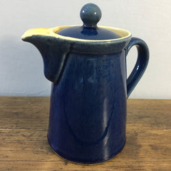 Denby Cottage Blue Straight Sided 1 Pint Coffee Pot