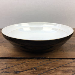 Denby Everyday Black Pepper Salad/Pasta Serving Bowl