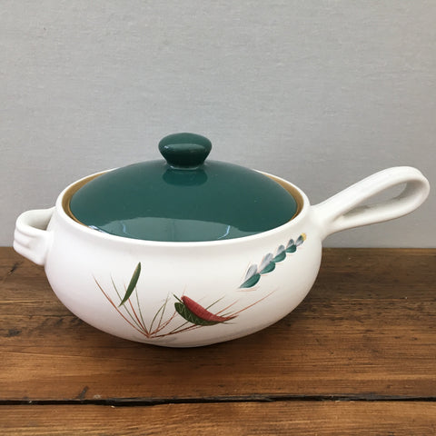 Denby Greenwheat 2 Pint Handled Casserole