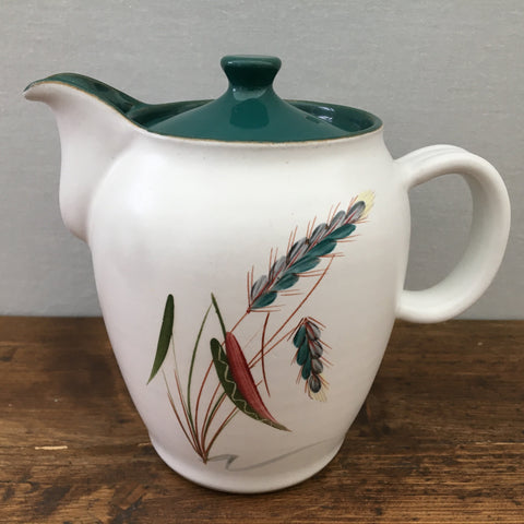 Denby Greenwheat 1 Pint Coffee Pot