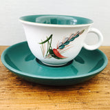 Denby Greenwheat Cup & Saucer