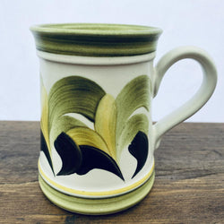 Denby Handpainted Mug - Green - Six of the Best Style