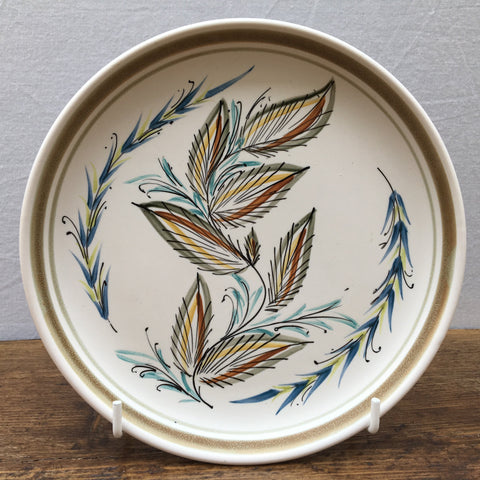 "Denby hand-painted 6.5"" plate"