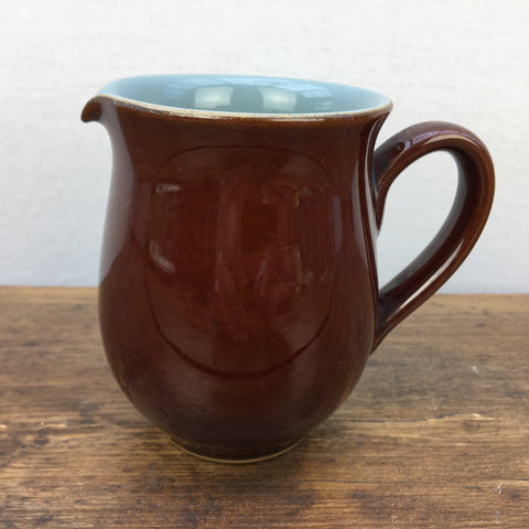 Denby Homestead Brown Milk Jug