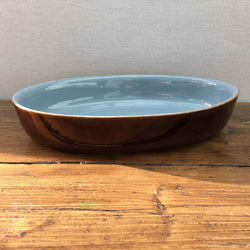 Denby Homestead Brown Oval Serving Dish