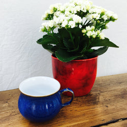 "Denby ""Imperial Blue"" Tea Cup"