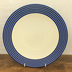 Denby Intro Stripes Blue Dinner Plate