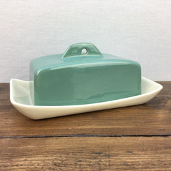 Denby Manor Green Butter / Cheese Dish