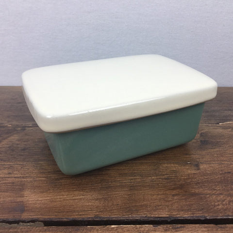 Denby Manor Green Butter Dish