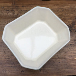 Denby Manor Green Hors d'Oeuvres Dish, Shaved Corners