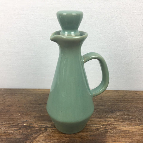 Denby Manor Green Oil / Vinegar Bottle (Green Stopper)
