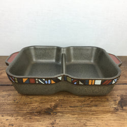 Denby Marrakesh Divided Serving Dish
