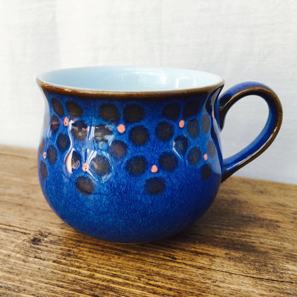 Denby Midnight Coffee Cup