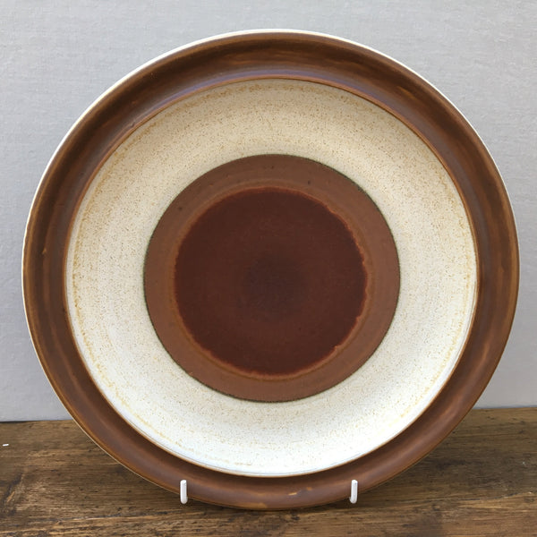 Denby Potters Wheel (Rust) Dinner Plate
