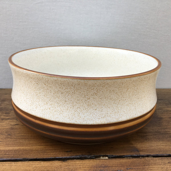 Denby Potters Wheel Rust Salad/Fruit Serving Bowl